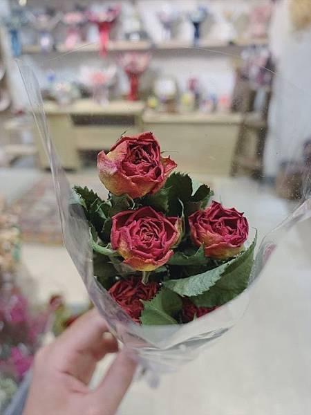 母親節乾燥花束推薦,乾燥玫瑰花,質感玫瑰.JPG