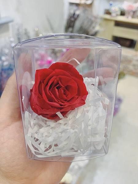 母親節乾燥花束推薦,喜歡生活乾燥花店永生紅玫瑰花.JPG