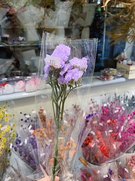 母親節乾燥花束推薦,乾燥花材推薦,乾燥星辰花.JPG