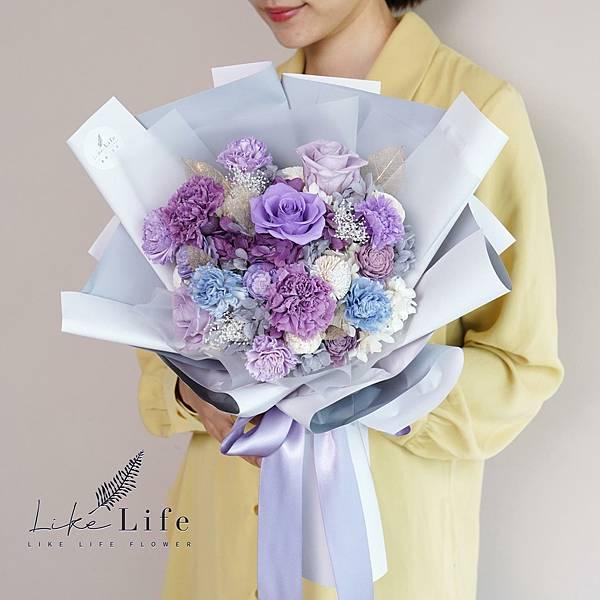 母親節康乃馨花束紫色康乃馨花束.jpg