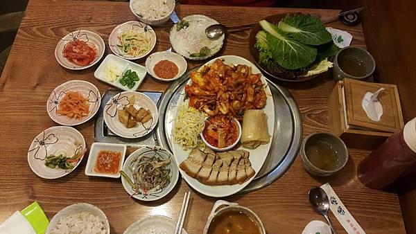 辣炒魷魚+五花肉套餐