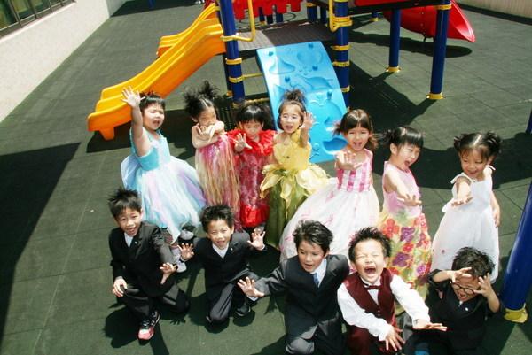 Portrait with classmates