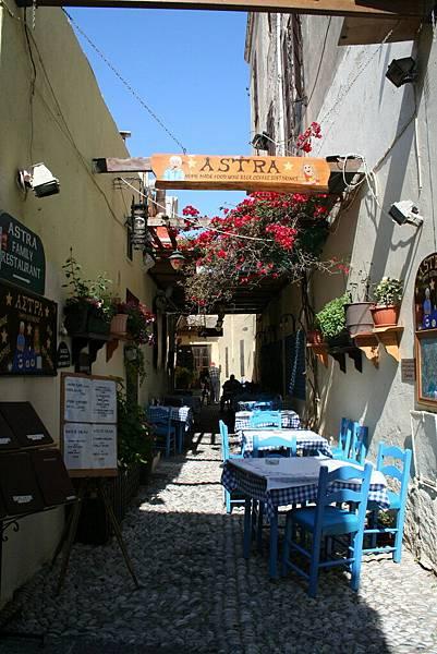 Rodos - 舊城區的餐廳