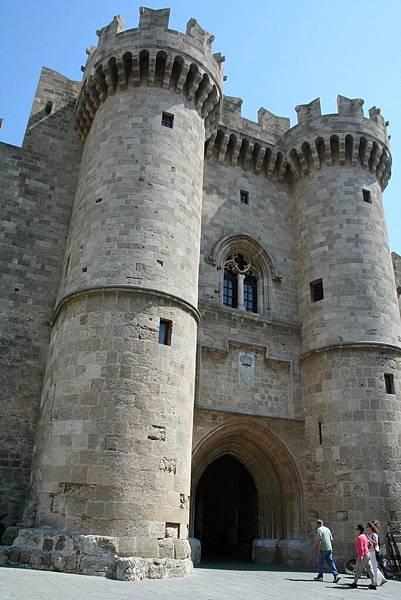 Rodos - 舊城區-騎士團團長宮殿