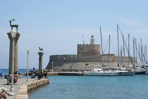 Rodos - 港口-聖尼可拉斯要塞