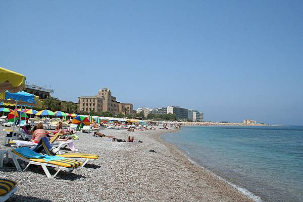 Rodos - 新市區海灘