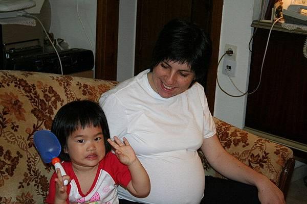 Irini 與希臘阿姨-Katerina 合照