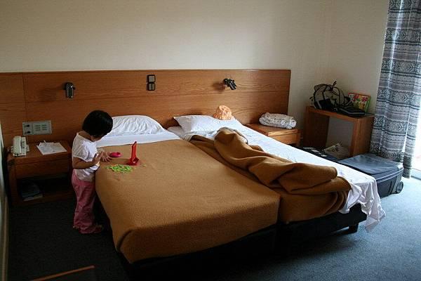我們住在Chania 的旅館