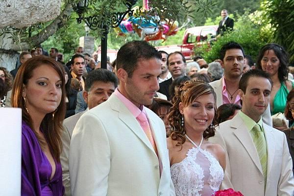 婚禮的新郎與新娘