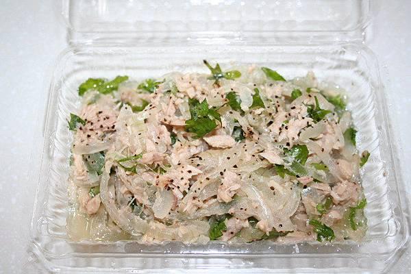 鮪魚涼拌洋蔥