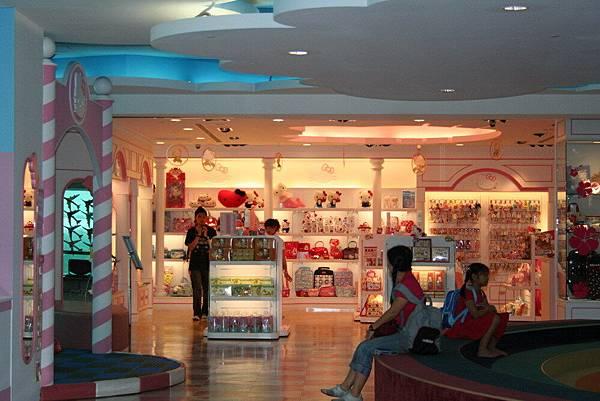中正機場第二航站Hello Kitty 專賣店