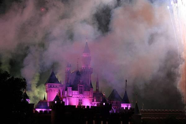 Disneyland 煙火