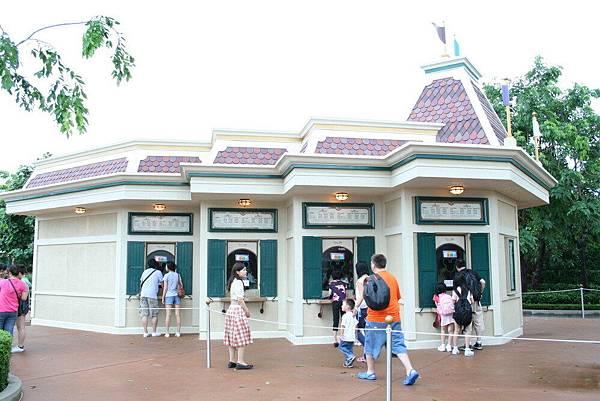 Disneyland 售票口