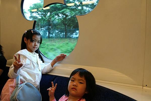 Disneyland 捷運站列車