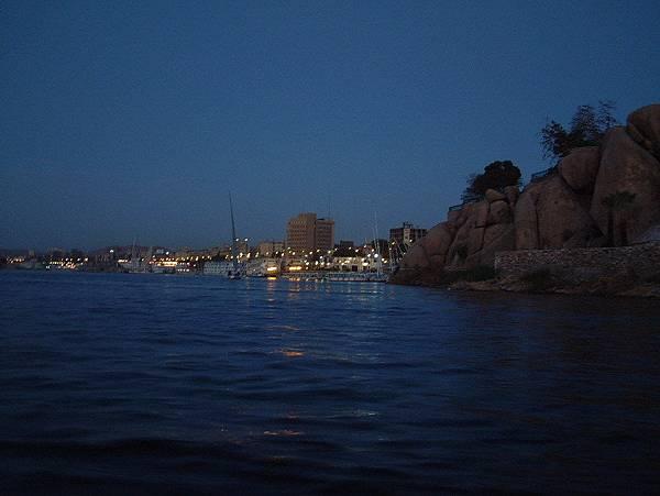 Aswan - 尼羅河夜景