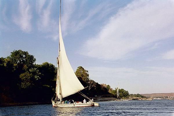 Aswan - 尼羅河搭Fluecca