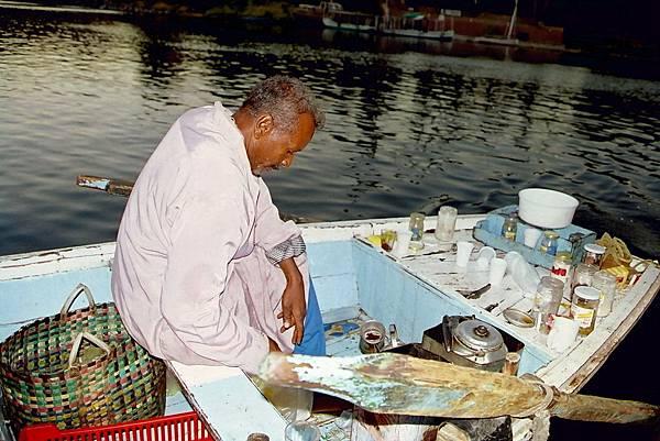 Aswan - 尼羅河上的小販
