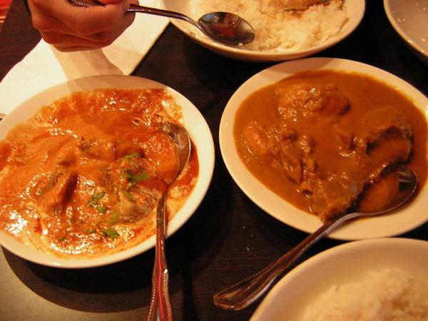 因為太累ㄌ所以吃印度料理開胃