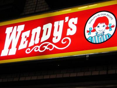 溫蒂漢堡...好久沒吃了