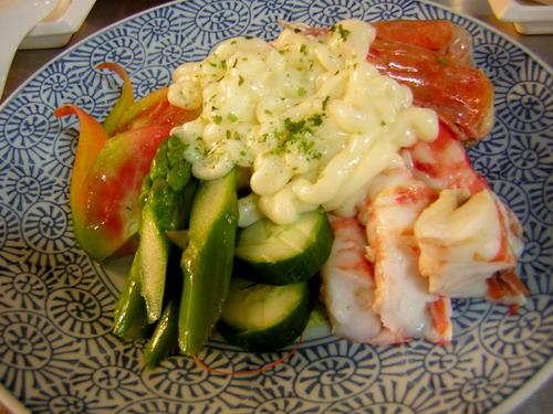 我的明蝦沙拉~超好吃到不行!!想不到的味道!!