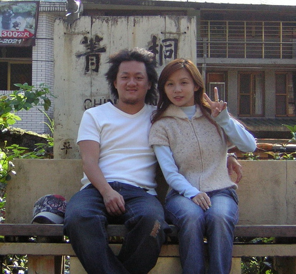 菁桐火車站...我們只有拍照沒有坐火車