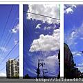 最喜歡藍天白雲了