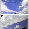 夢幻的可愛雲