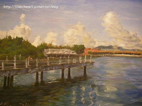 s9907畫作蘭卡威漁港-室內拍.jpg