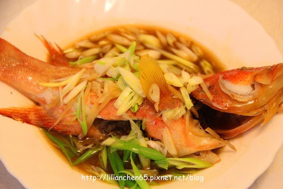 莉莉安的私房菜.....清蒸海魚