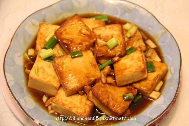 莉莉安的私房菜.....蠔油燒豆腐