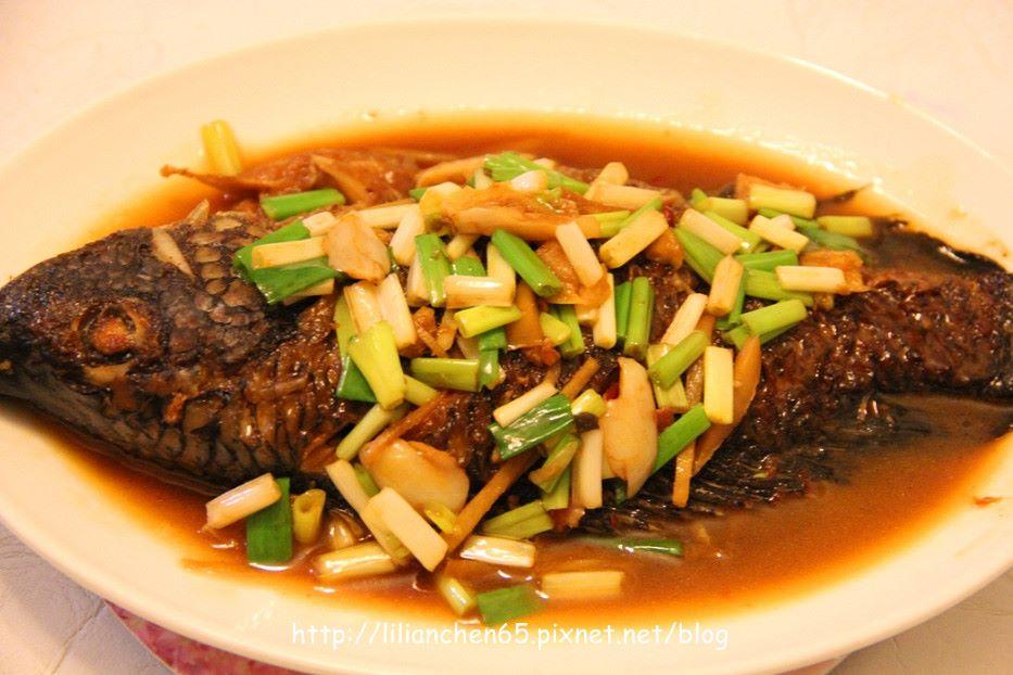 莉莉安的私房菜.....紅燒吳郭魚