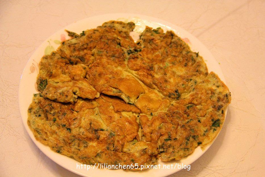 莉莉安的私房菜.....九層塔煎蛋