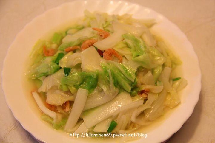 莉莉安的私房菜.....川揚白菜