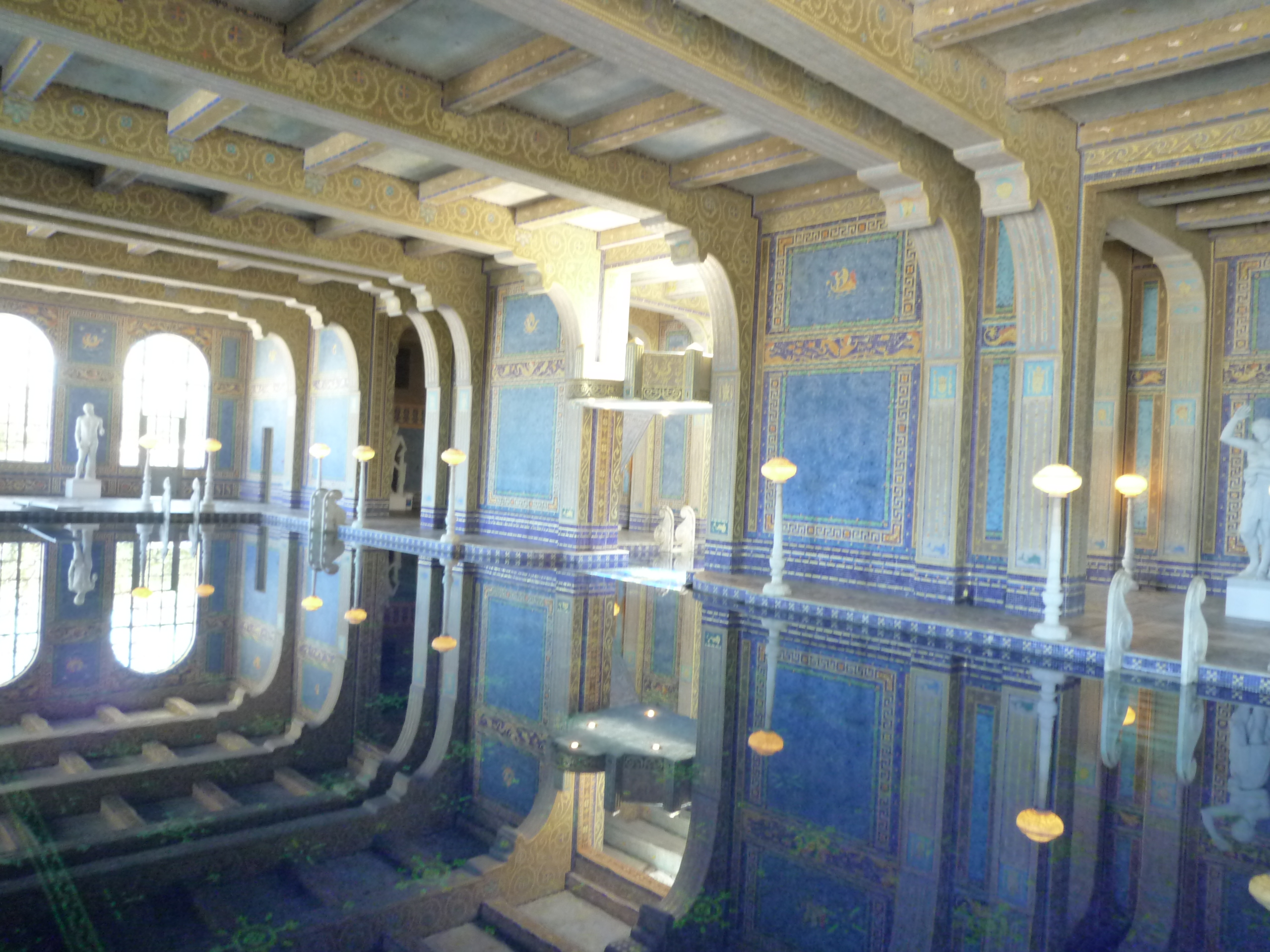 Hearst Castle-2nd pool2.JPG