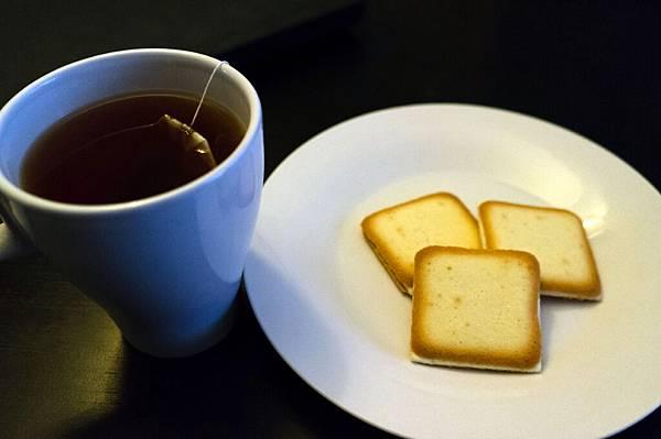 白色戀人-配茶