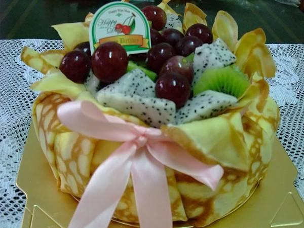 水果可麗蛋糕