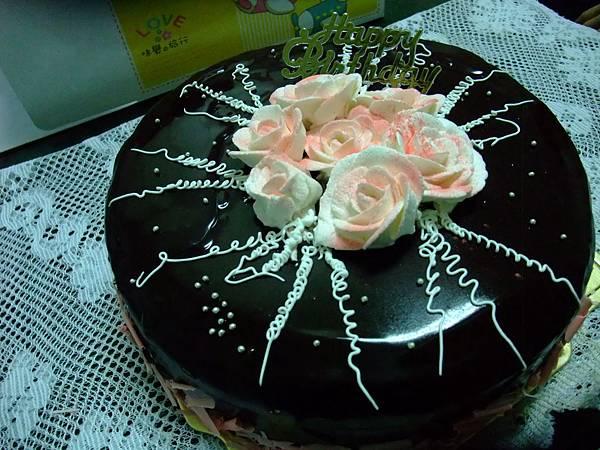 巧克力玫瑰蛋糕