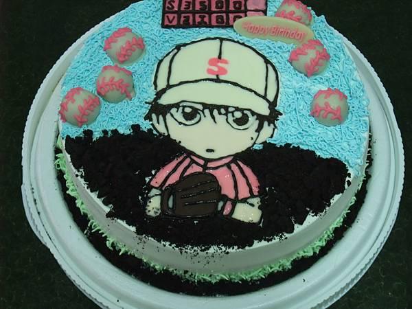 棒球投手蛋糕