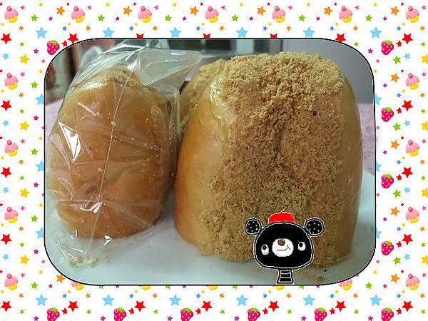 奶油花生麵包