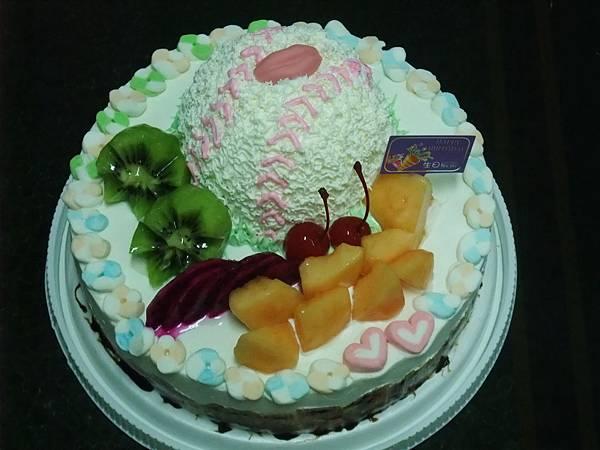 10吋棒球蛋糕