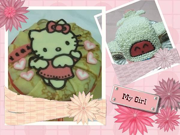 kitty蛋糕vs飛機蛋糕