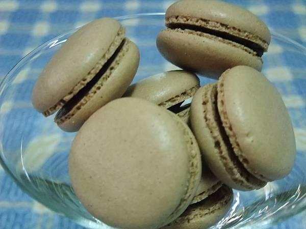 巧克力馬卡龍