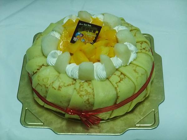 可麗餅水果蛋糕