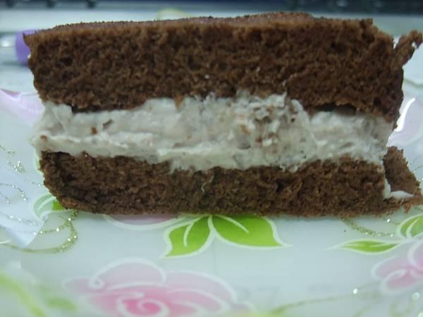 巧克力芋頭蛋糕條