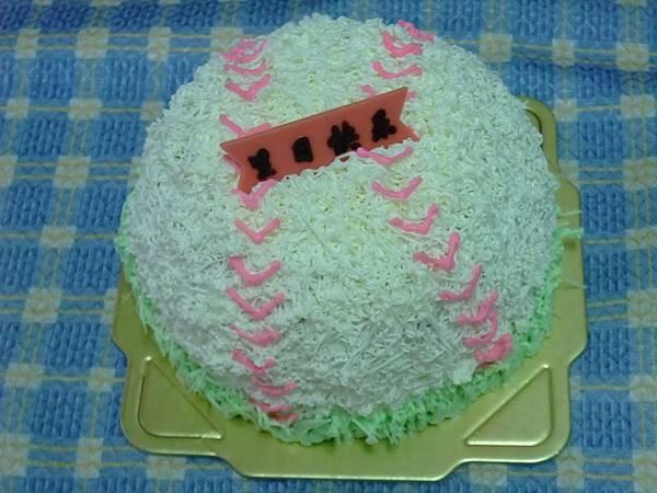 6吋棒球蛋糕
