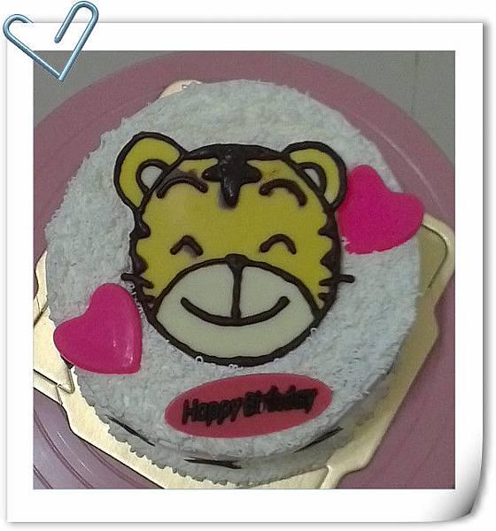 6吋巧虎蛋糕