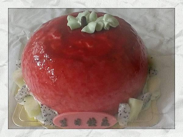 蘋果造型蛋糕
