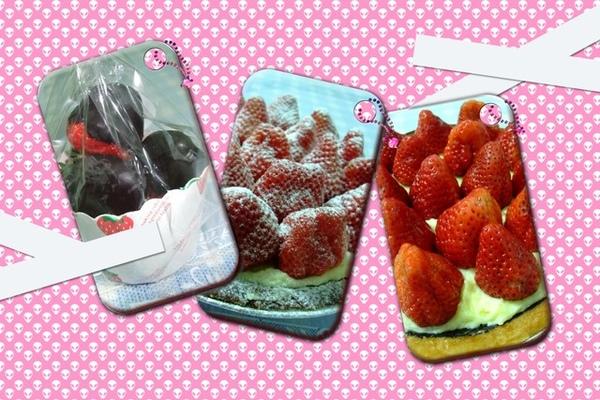 草莓塔vs草莓巧克力