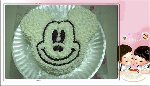 米奇裝飾蛋糕