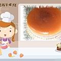 同事的生日蛋糕
